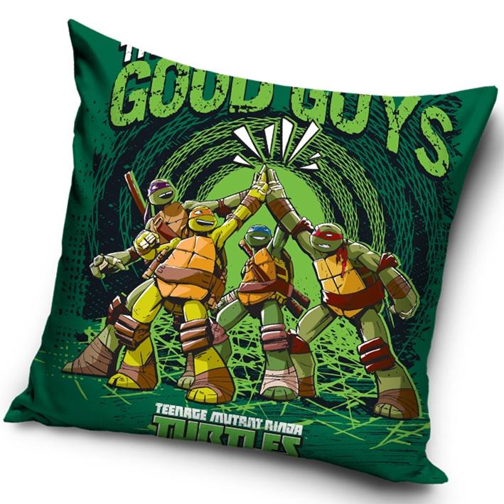 Polštářek Želvy Ninja Zelený
