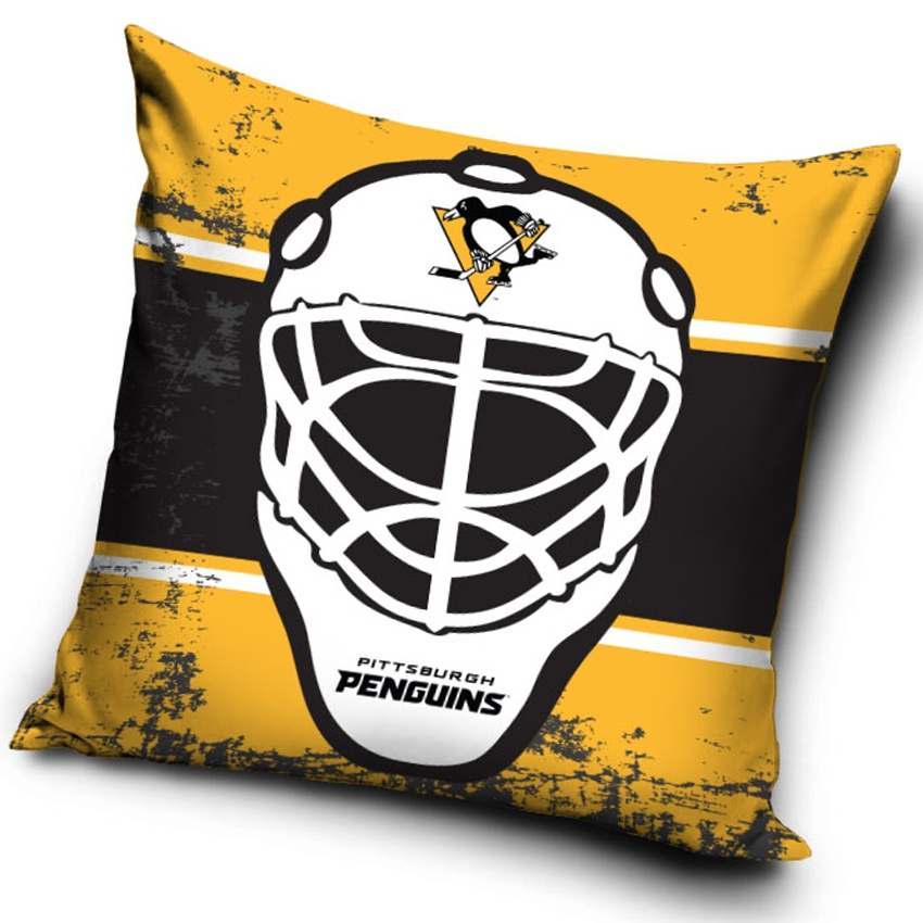 Polštářek NHL Pittsburgh Penguins Maska