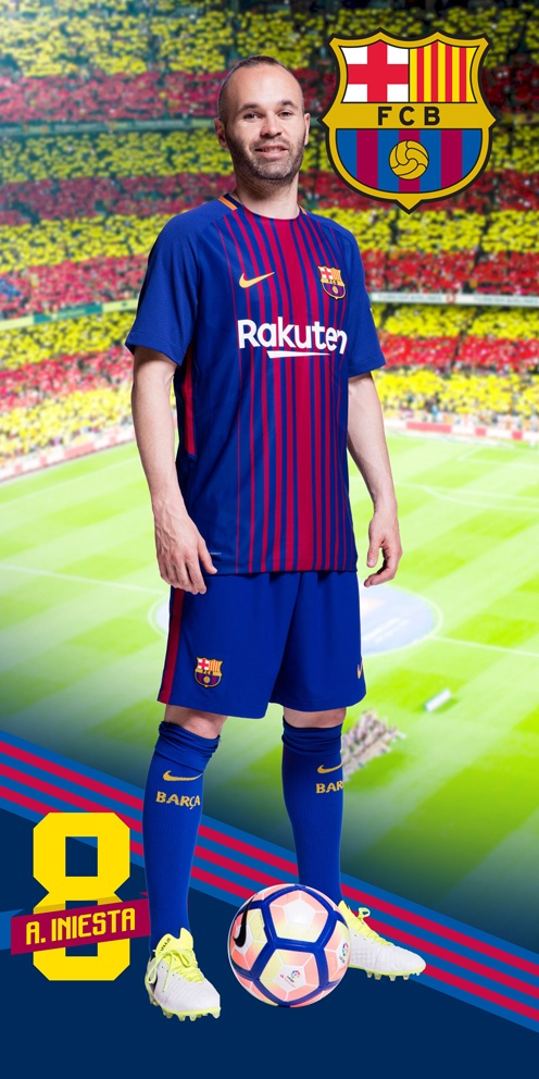 Osuška FC Barcelona Iniesta 2018