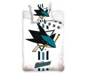Hokejové povlečení NHL San Jose Sharks White