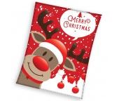 Vánoční deka Sob Rudolf 150x200 cm