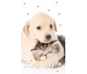 Froté ručníček Koťátko a Štěňátko