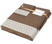 Dárkový set ručníků Pontos Brown