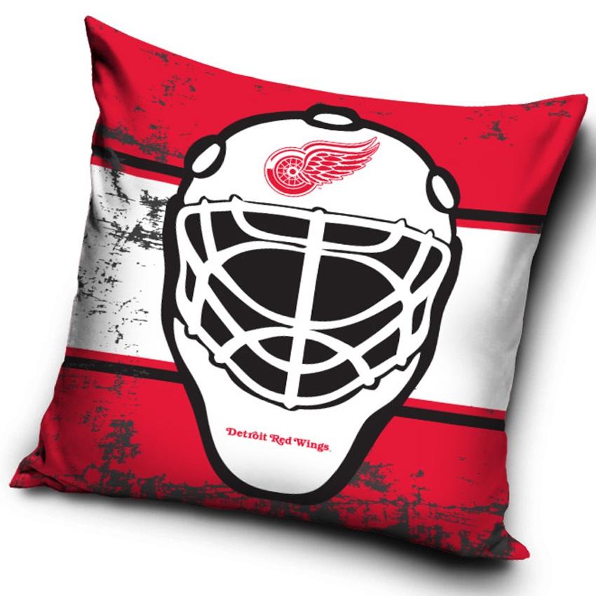 Polštářek NHL Detroit Red Wings Maska