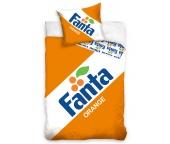 Bavlněné povlečení Fanta Clasic Logo