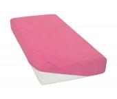 Jersey prostěradlo Růžové BedTex