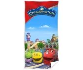 Dětská osuška Chuggington - Veselé vláčky Depo