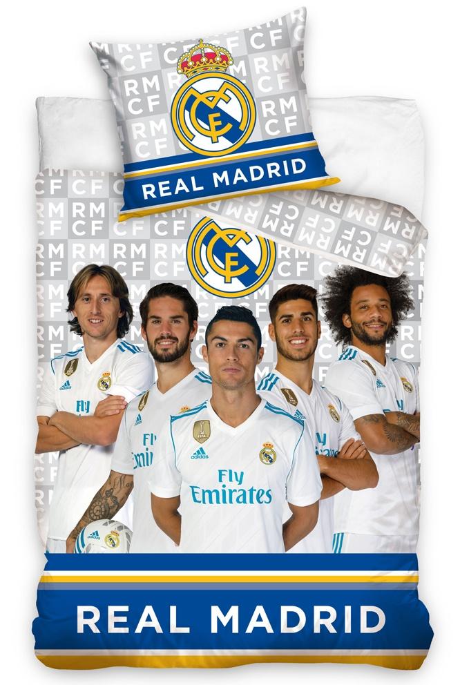 Fotbalové povlečení Real Madrid Hráči