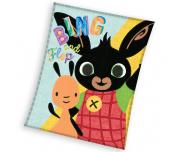 Dětská deka Zajíček Bing a Flop 110x140 cm