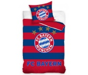 Fotbalové povlečení FC Bayern Mnichov Stripes