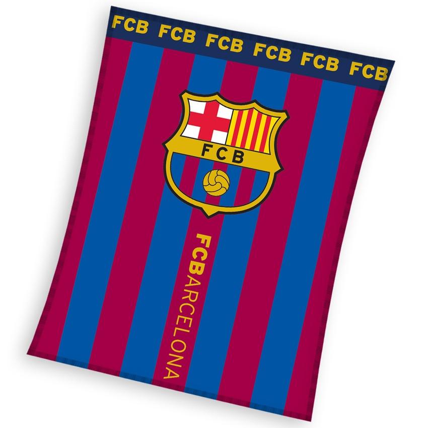 0dcb617990429 Dětská deka FC Barcelona Erb - Dokonalý domov