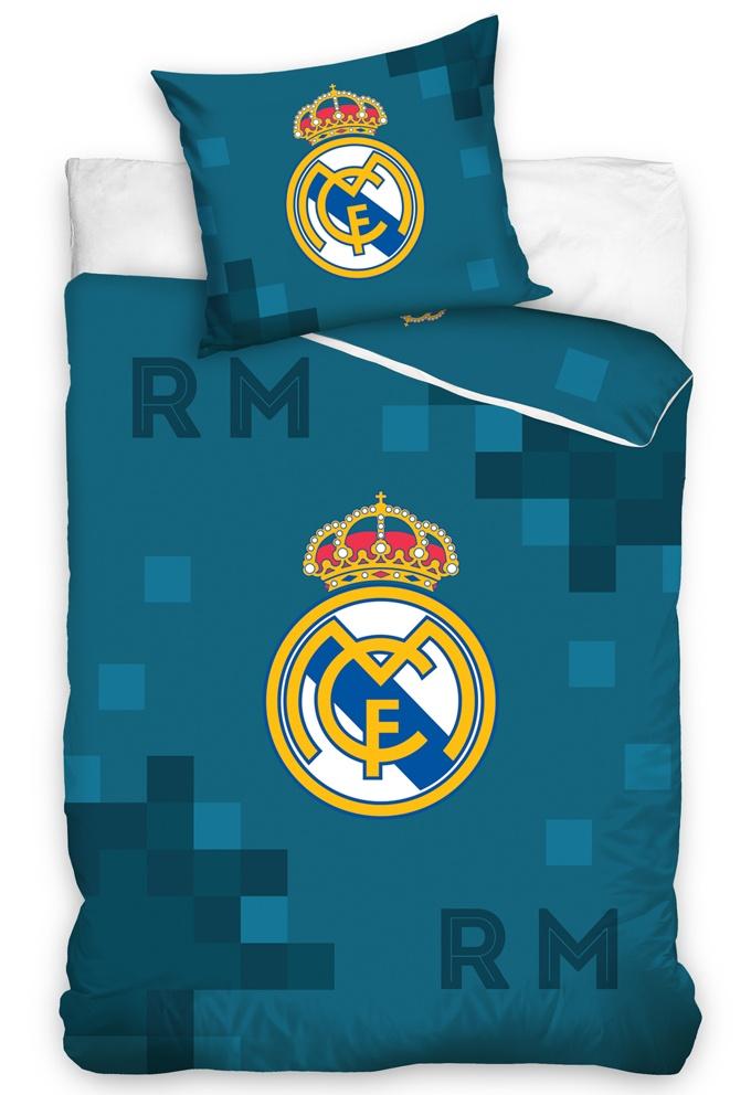 Fotbalové povlečení Real Madrid Dados Blue