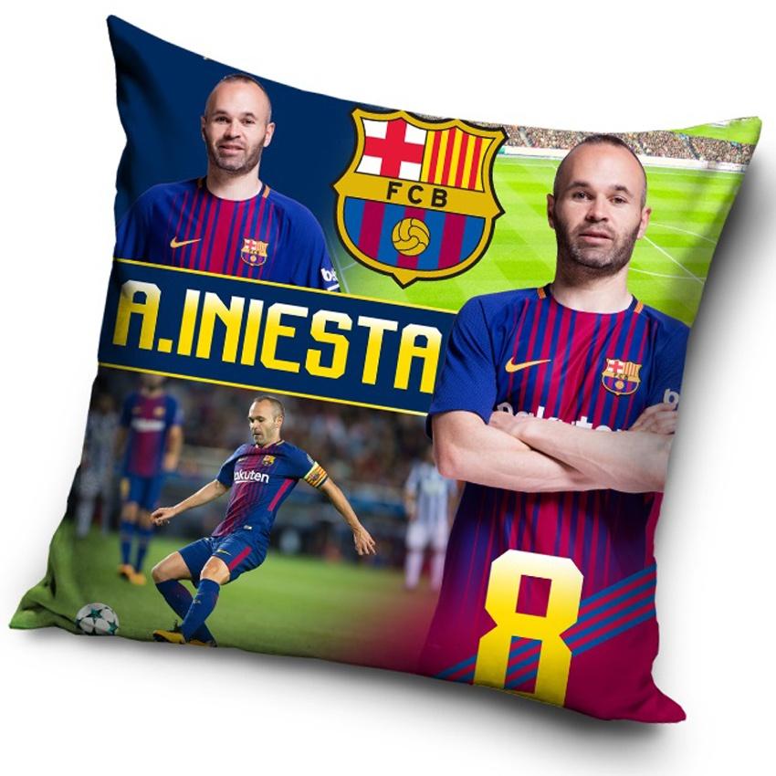 Polštářek FC Barcelona Iniesta 2018