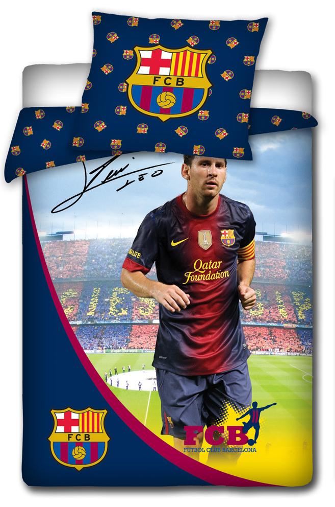 Povlečení Messi s podpisem